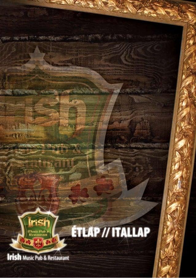 Irish etlap-web