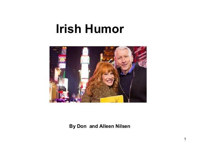 1 Irish Humor By Don and Alleen Nilsen