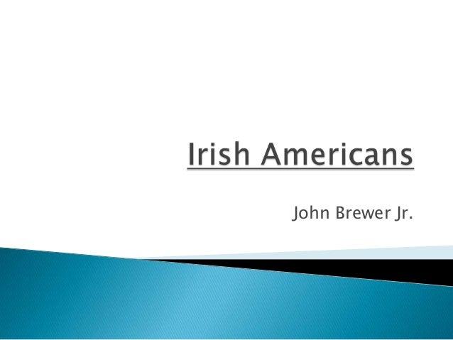 John Brewer Jr.