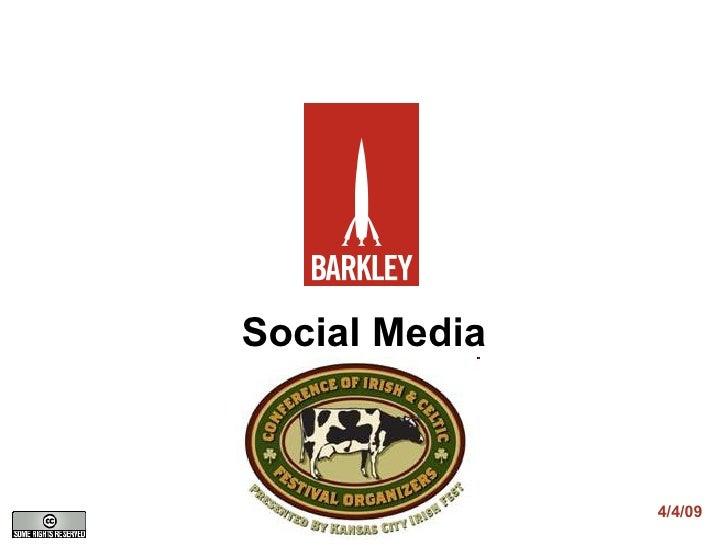 Social Media 4/4/09