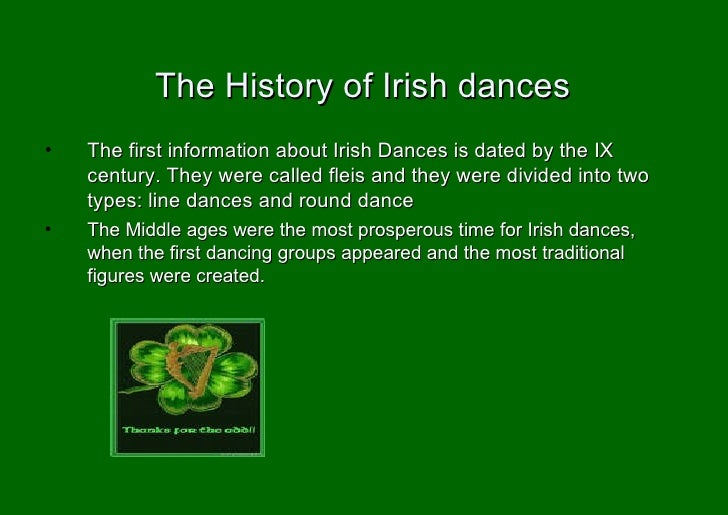 What are some of the most common Irish dances?