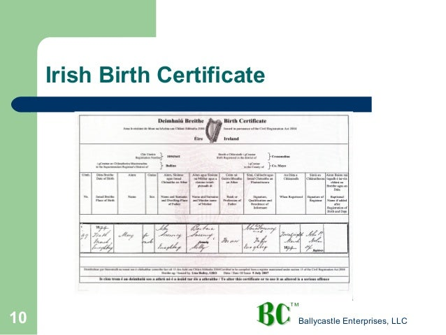 Irish Genealogy Tips Techniques Tales And Lessons Learned