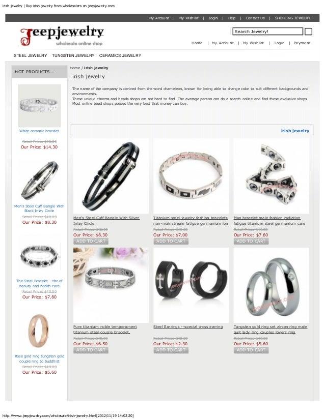 irish jewelry | Buy irish jewelry from wholesalers on jeepjewelry.com                                                     ...
