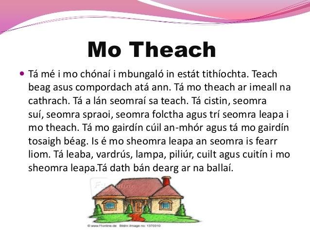 mo theach essay