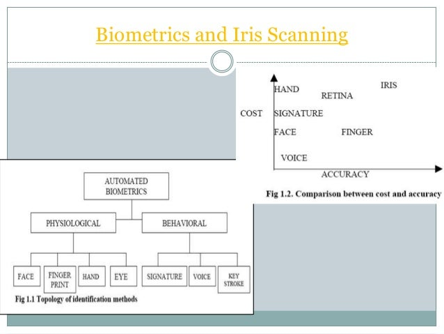 Iris recognition seminar