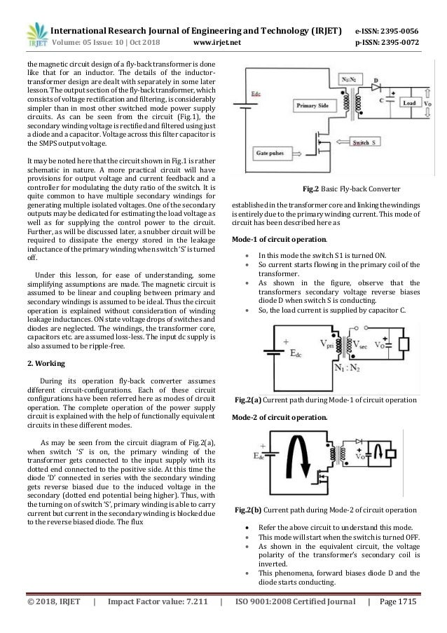 IRJET- Design and Implementation of Isolated Multi-Output