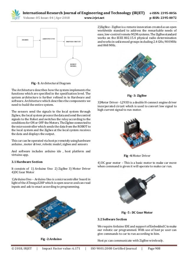 IRJET- Multiple Motion Control System of Robotic Car Based on IoT