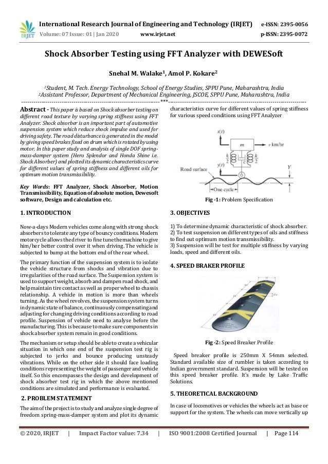 International Research Journal of Engineering and Technology (IRJET) e-ISSN: 2395-0056 Volume: 07 Issue: 01 | Jan 2020 www...