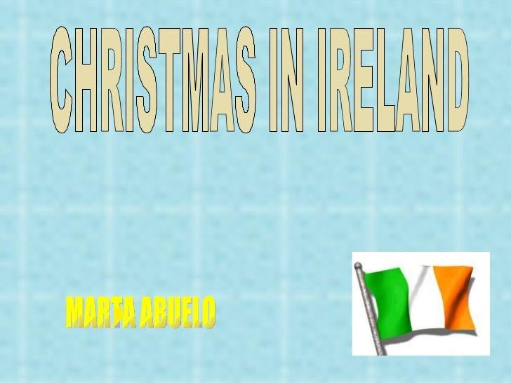 CHRISTMAS IN IRELAND MARTA ABUELO