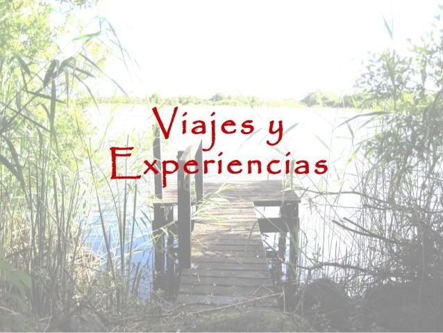 Viajes y Experiencias