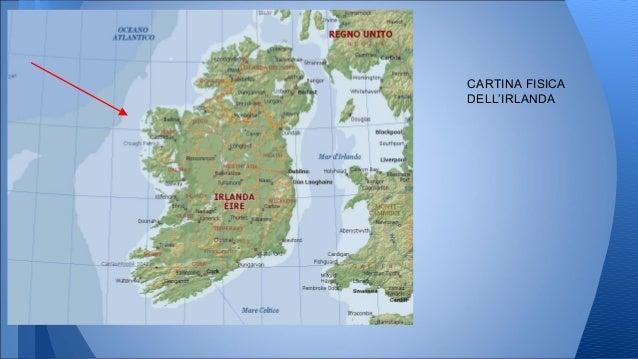 Cartina Politica Dell Irlanda.Irlanda Dublino