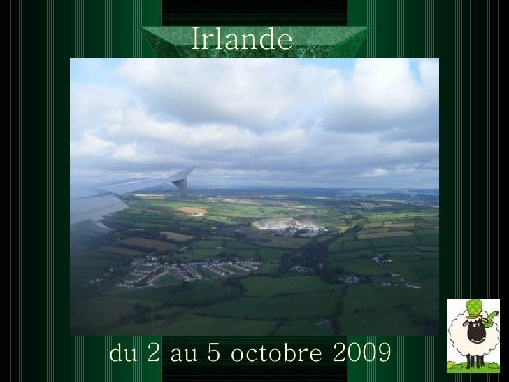 Irlande   du 2 au 5 octobre 2009
