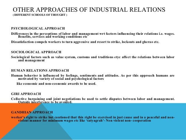 employee relations as a substitute for industrial relations Career map for hr specialist employee relations 2 required competencies (see competencies defined in appendix.