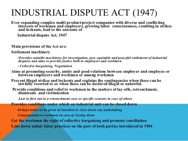 disadvantages of industrial action