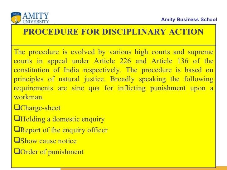 domestic inquiry Siasatan dalaman (domestic inquiry) ia adalah suatu jawatankuasa siasatan dalaman terhadap pertuduhan salah laku yang disyaki dilakukan oleh seseorang pekerja.