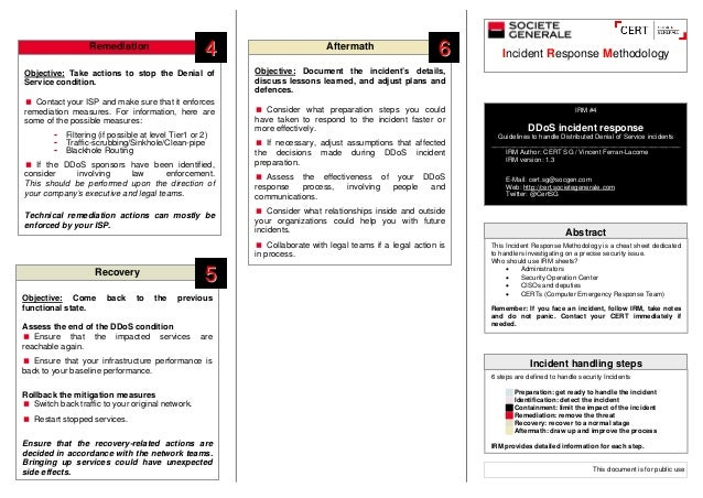 Snort Cheat Sheet Hossroshanaco - Incident response plan template sans