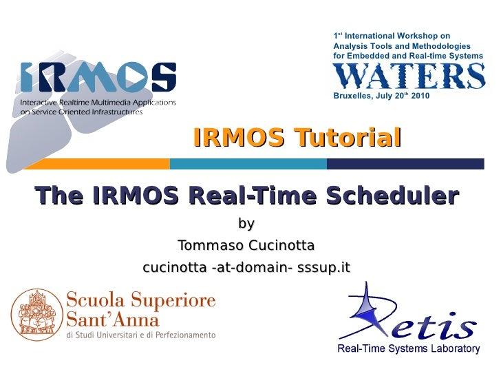 1st International Workshop on                                   Analysis Tools and Methodologies                          ...