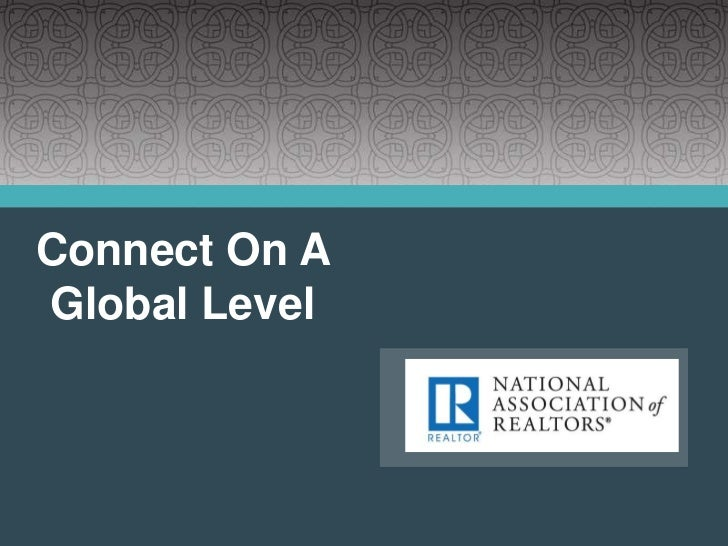 Connect On A Global Level<br />