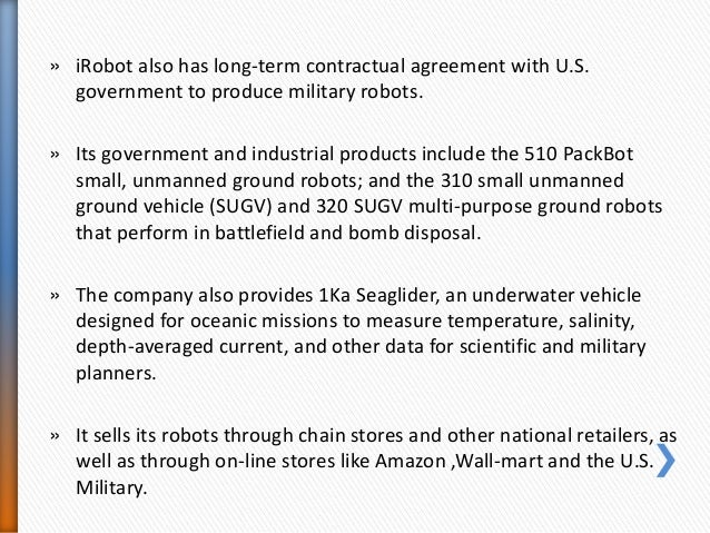 irobot finding the right market mix Irobot corporation (nasdaq:irbt) q2 2018 results earnings conference call july 25, 2018, 08:30 am et executives elise caffrey - investor relations colin angle -  and some delayed.