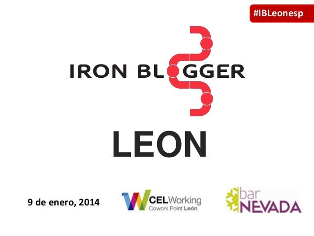 #IBLeonesp  LEON 9 de enero, 2014