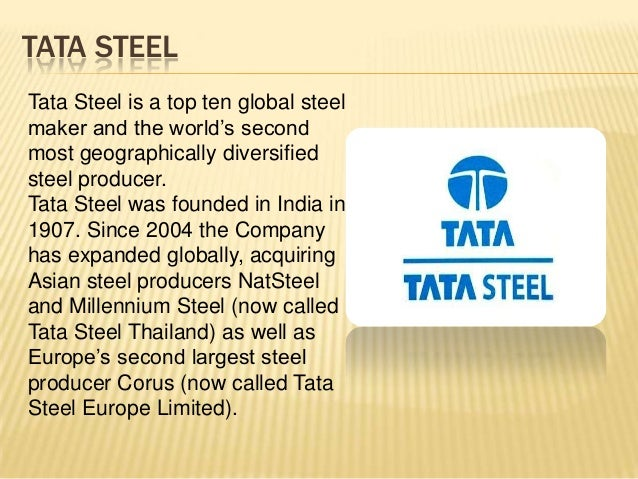 tata steel essay Sample marketing essay the marketing essay below has been submitted to us by a student in order to help you with your studies please ensure that you reference our essays correctly.