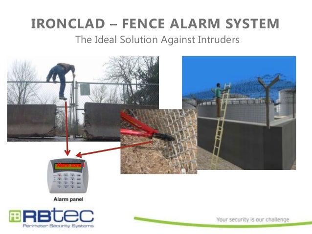 Intrusion Detection Sensor Cable : Ironclad perimeter intrusion detection system fence