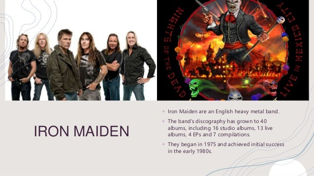 Singles discography maiden iron List of