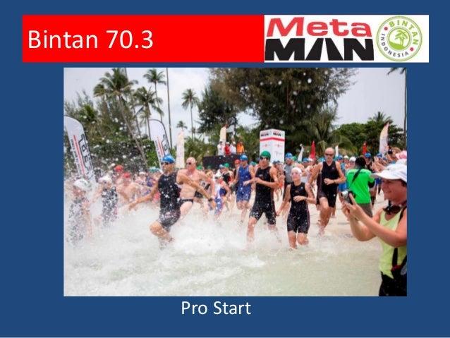 Bintan 70.3        a more leisurely start