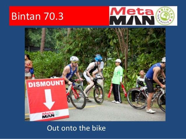 Bintan 70.3       Out onto the bike