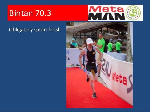 Bintan 70.3        Obligatory sprint finish