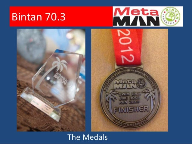 Bintan 70.3• Learnings  – Realistic goals  – Be prepared to adjust expectations to finish    instead of DNF  – Slow by pre...
