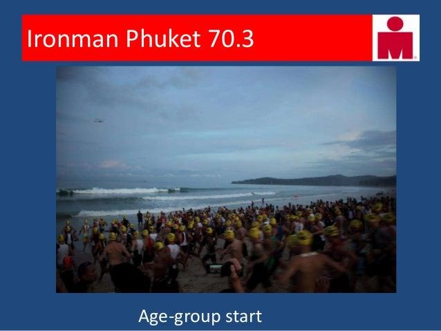 Ironman Phuket 70.3        Into the waves