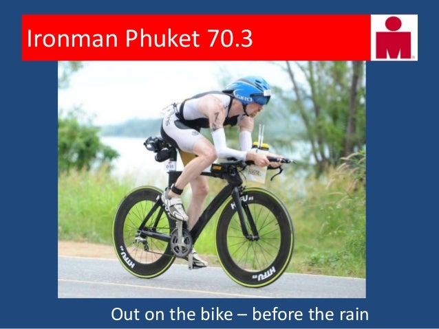 Ironman Phuket 70.3       Start of a nice cool run