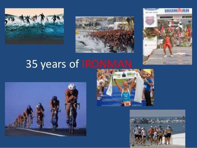 35 years of IRONMAN