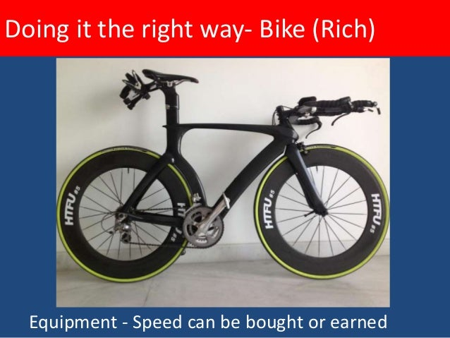Doing it the right way- Bike (Rich)       Travel – arriving in one piece
