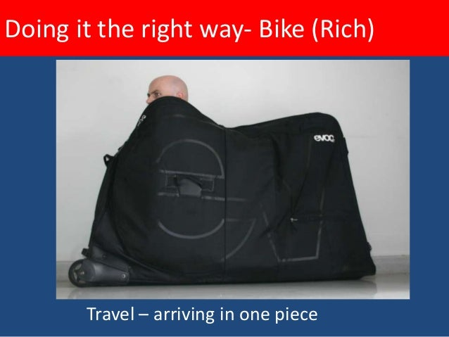 Doing it the right way- Bike (Rich)• Hydration  – Convenient    and    aerodynamic    bottles