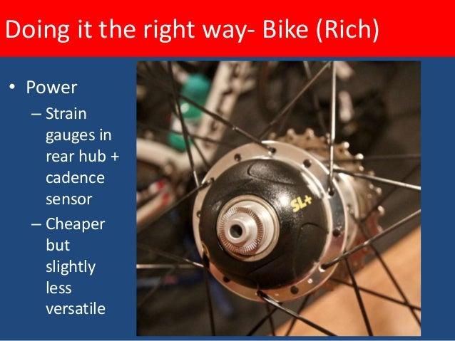 Doing it the right way- Bike (Rich)  Power- Truest way to measure even effort