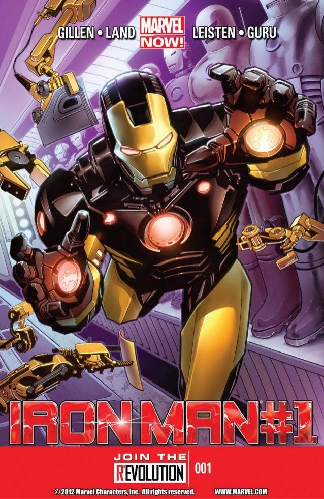 Iron man #1 marvel now  [thaicomix]