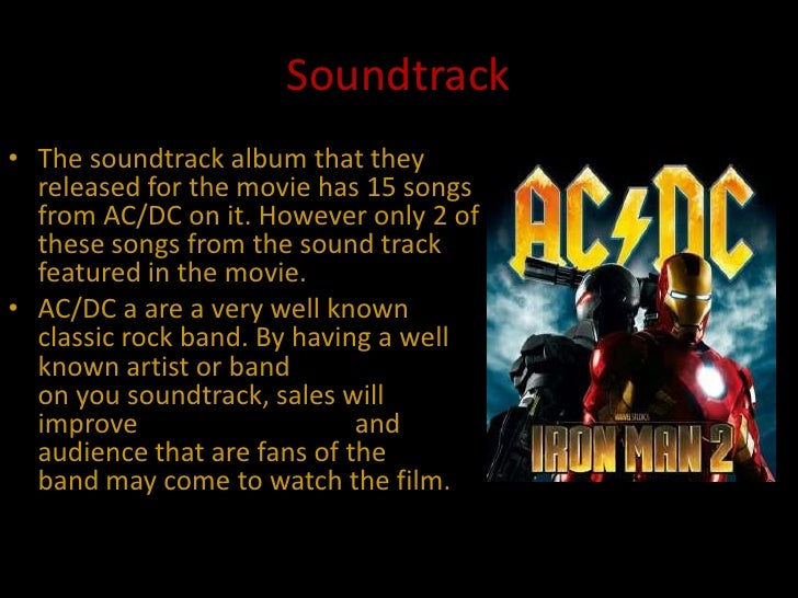 iron man 2 soundtrack album
