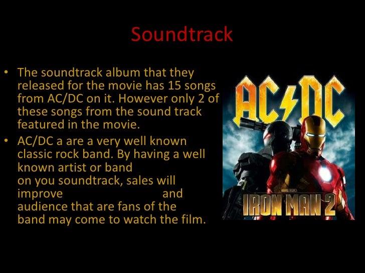iron man 2 soundtrack album