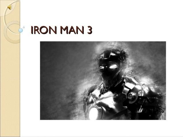 IRON MAN 3IRON MAN 3