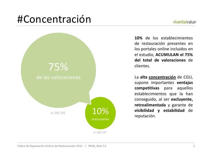 #Concentración                                                                   10% de los establecimientos              ...