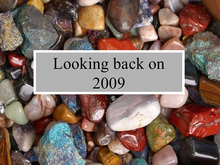 Looking back on 2009
