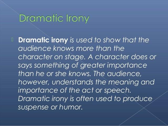importance of irony