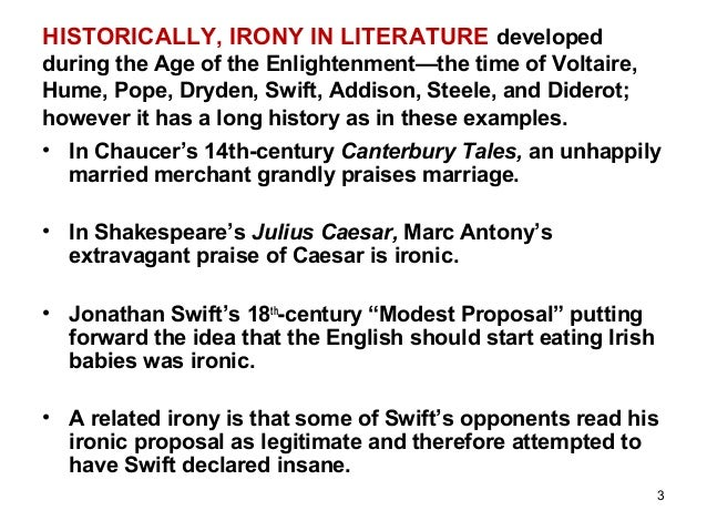 examples of irony in the canterbury tales The canterbury tales: the wife of bath's tale home about  figurative language  irony in the fact that the knight hoped to gain wisdom in youth (dancing.
