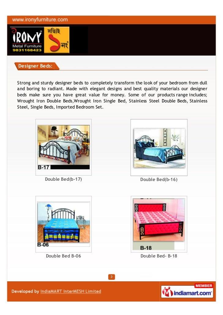 Irony Furniture, Kolkata, TRIO Dinning Set Slide 3