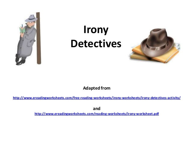 Free Irony Worksheet Pdf free irony worksheet pdf and Diilz – Identifying Irony Worksheet Answers