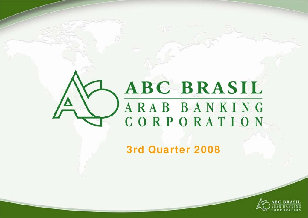 3rd Quarter 2008