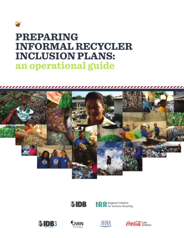 PREPARING INFORMAL RECYCLER INCLUSION PLANS: AN OPERATIONAL GUIDE