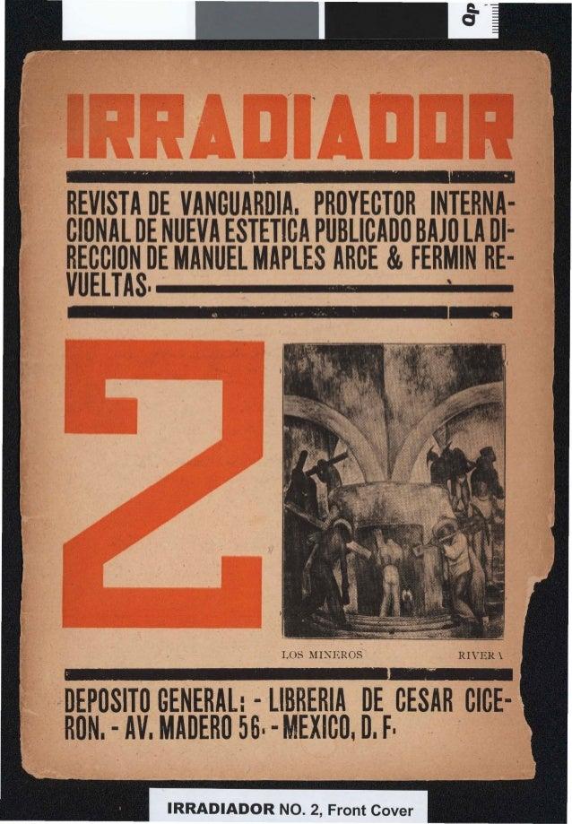 """-  _  ~  .  .. A""""  ,""""  .  •l  .  ..  REVISTA DE VANGUARDIA. PROYECTOR INTERNACIONAL DE NUEVA ESTETICA PUBLICADO BAJO LA 01..."""